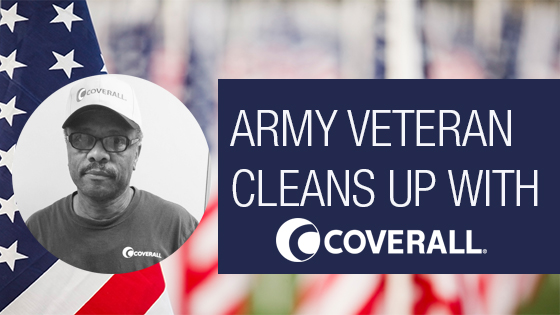 Army Veteran Cleans Up with a Coverall® Commercial Cleaning Franchised Business